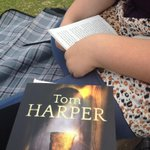 Enjoying my @tomharperauthor #York #BigCityRead book while my daughter reads a book for the #SummerReadingChallenge http://t.co/3AF8f5OsmO