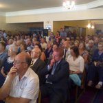 RT @huckfield: RT @cllrthomson: Audience of 300+ turn out tonight for Nicola Sturgeon in Inverurie #indyref #indyref #yesscot http://t.co/8FYnceOVug