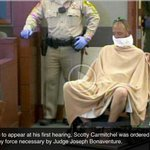 Def Picof year of Bellagio Robber being hauled into Court...Funniest Pic of all time Vegas Court Room Courtesy LVRJ http://t.co/fh5nZa2OcY