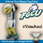 #ASunMascotCup FINAL: To vote for @azultheeagle RT/FAV this tweet, or tweet #VoteAzul until Thursday 4pm! http://t.co/anQgLIQgPL