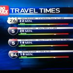 RT @ConveryKATU: 7:30AM Commute Times. #pdxtraffic #liveonk2 http://t.co/vdVef34FtJ