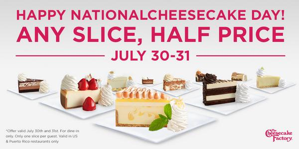 HELLO, FRIEND! We've been waiting for you. #NationalCheesecakeDay http://t.co/dh3Cvk46Zd