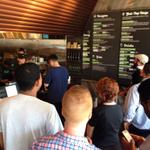 About 50 people are crowded into Shake Shack for todays grand opening in Winter Park. More on #Local6 News at Noon. http://t.co/K19Fgp3x1d