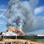 "RT @BBCSussex: PIC #EastbournePierFire RT ""@pauljwpb: No saving it now. Heartbreaking for Eastbourne. http://t.co/eHJp1WfMAw"""