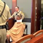 Better shot here from @reviewjournal court reporter RT @randompoker Bellagio robber wheeled into court. http://t.co/KRnlgr3nmd