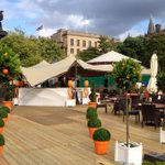 RT @edinspotlight: The @ARfringe bar in St Andrew Square will be opening soon #edfringe http://t.co/G3dOxQxhdE