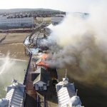 RT @brightonsnapper: eastbourne pier fire http://t.co/gvEqcPyXoO