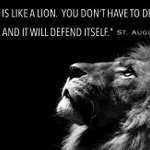 "#Vegas #Yoga Musings. ""The truth is like a lion. You dont have to defend it. Let it loose and it will defend itself"" http://t.co/JRG1kVOtrk"
