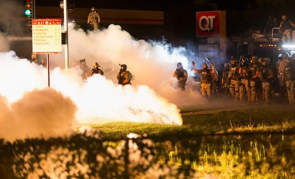 This is not the Middle East, this is not a war zone. This is happening in OUR country. Pay attention. #Ferguson http://t.co/joFbAwJTUP