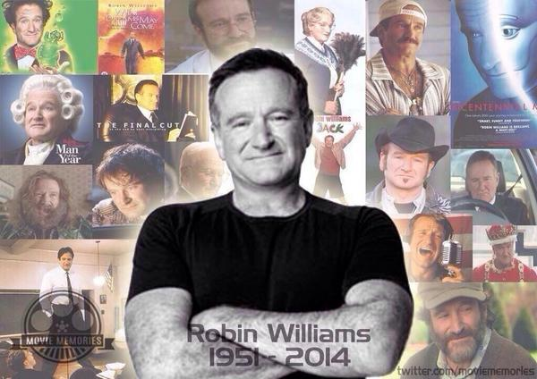 God rest his soul.. From an actor to a comedian.. A genius. #RIPRobinWilliams
