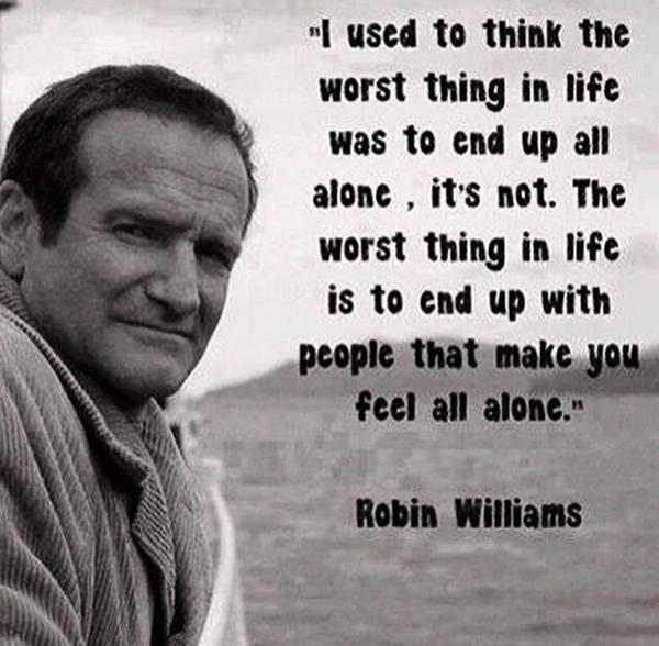 So sad to see such a talented person leave us - #RIP #RobinWilliams http://t.co/KNxSjBQpij