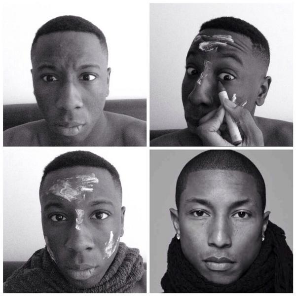 "Looool ""@ThatGurl_Efe: #makeuptransformation lmaoo http://t.co/K171lwxd7i"""