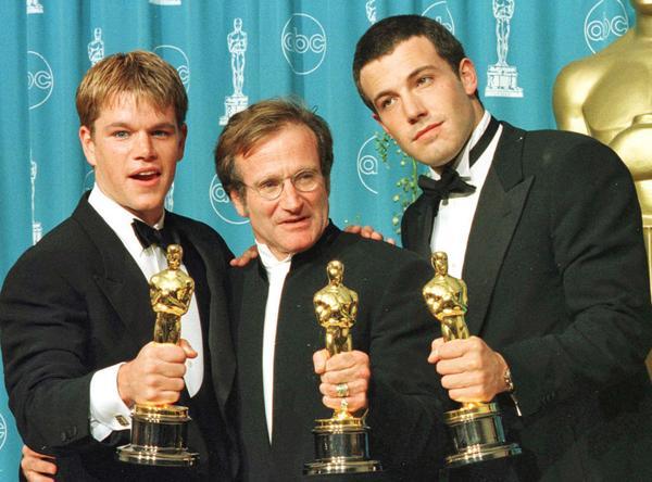 """so true RT @ENews: Ben Affleck thanks Robin Williams: """"He made Matt and my dreams come true."""" http://t.co/CIK4qWNBnP http://t.co/1jQJvyRWNT"""