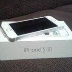 SORTEAREMOS ESSE IPHONE 5s AS 16:30 HRS. PRA CONCORRER BASTA SEGUIR O INSTAGRAM http://t.co/Gi0jhVgCaD  BOA SORTE!! http://t.co/KQ4eLheiTo