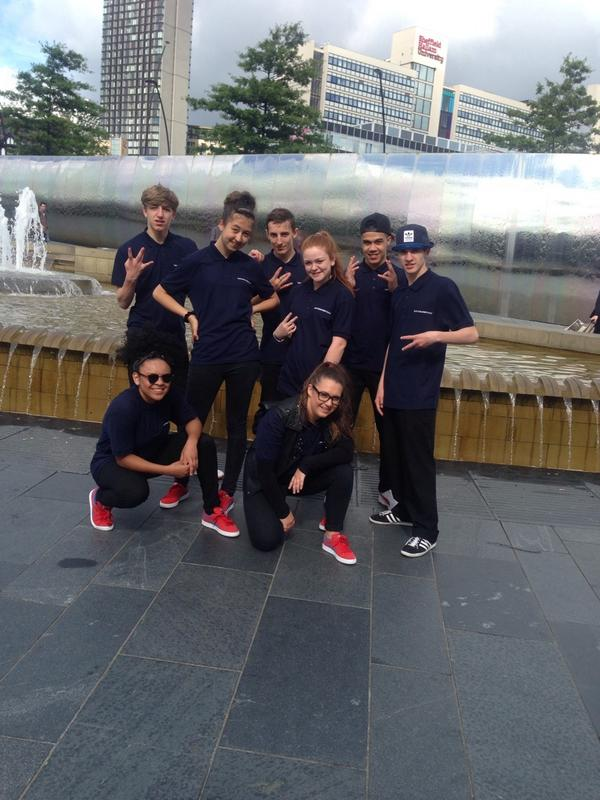Trinity Academy Performing for @EMTrains today #TrinityFamily http://t.co/oDGe9cAlmO