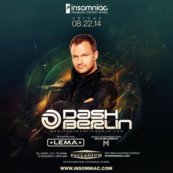 LA! I couldn't b more excited for this Going 2 b a HUGE night w/ @DashBerlin @McloughlinMusic + @InsomniacEvents! http://t.co/rBkgoeM0kE