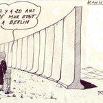 RT @HaceneHaifi: Dans la nuit du 12 au 13 août 1961 fut érigé le #MurdeBerlin. Il rappelle un autre mur de la honte. #Palestine http://t.co/nYstFgDg8b