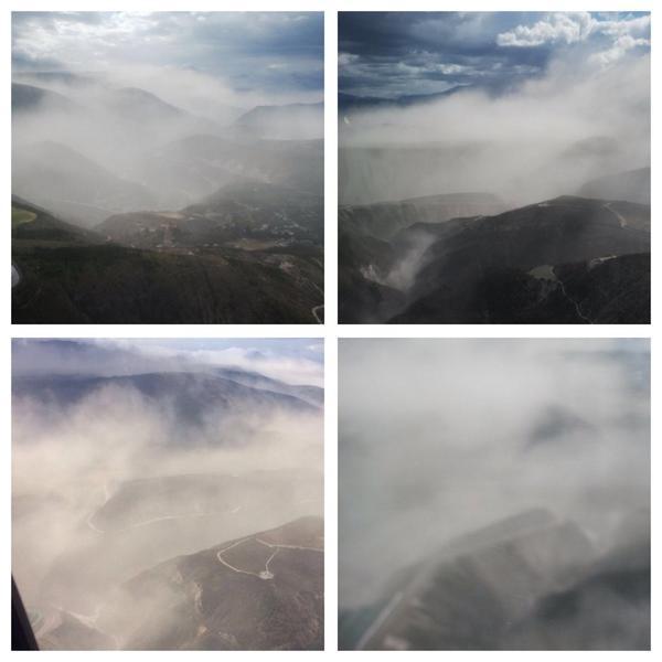 El polvo aún es denso en #UIO tomar precaución al conducir, reporta servicio #Aeropolicial  http://t.co/MEG6Vk56CM Vía @PoliciaEcuador