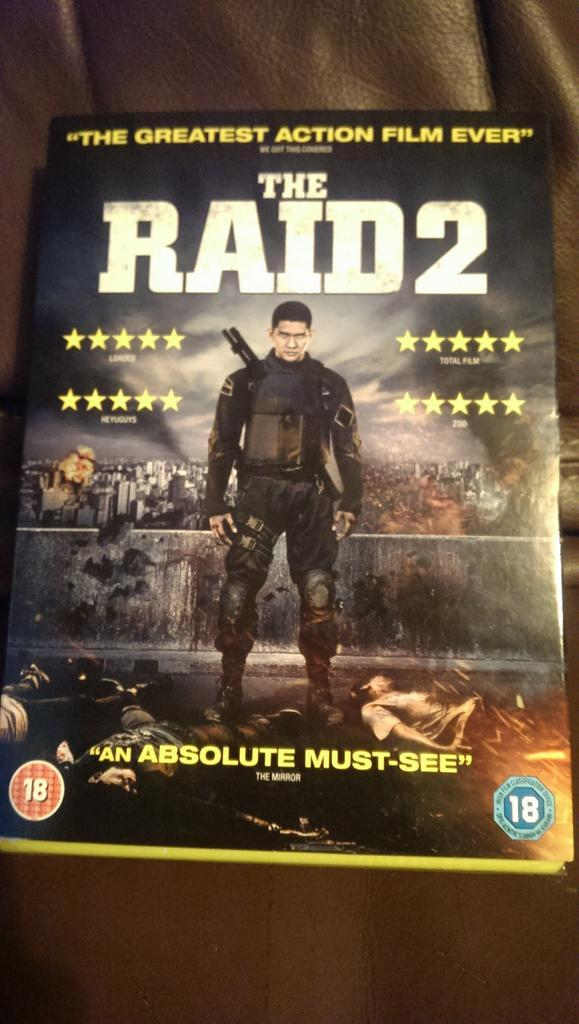 My ticket to the gun show #TheRaid2 Tweet-a-long this Friday 20:30 http://t.co/JNvUh6fvxn