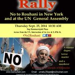 Rouhani is a real terrorist beneath a smile.Dont fool with this smile #No2Rouhani #Iran http://t.co/WJRK1zlqrZ http://t.co/UPLfaWGJDG