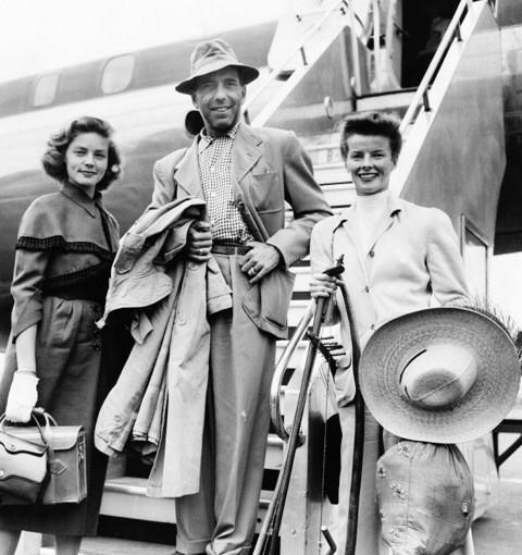 Love this photo. On the way to make The African Queen.  #LaurenBacall wasn't in the film but went along for the fun http://t.co/Oeo6X8WhOn