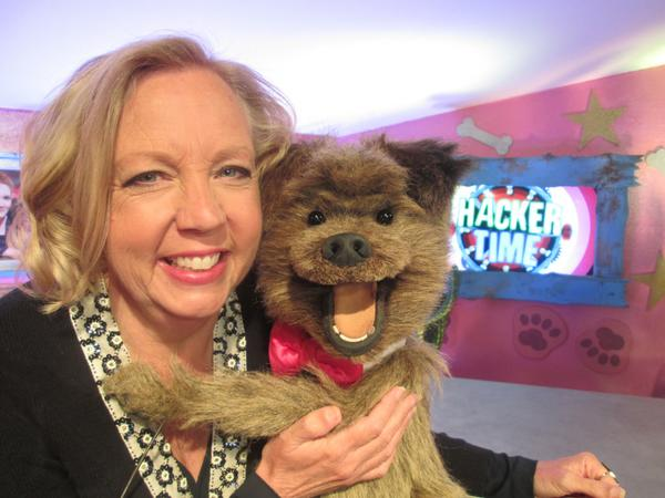 Brand New 'Hacker time' today at 9am and 4.30pm on CBBC stars @DeborahMeaden from Dragons Den and a cameo from Accy G http://t.co/WI4mnKUKkW