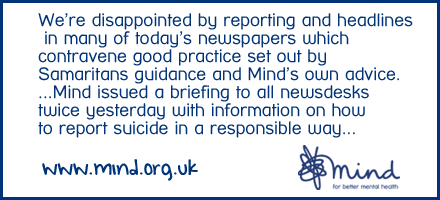 Our response to reporting of the death of Robin Williams in many newspapers> http://t.co/ZJH861Ckzd | http://t.co/CKlOxhl5uX