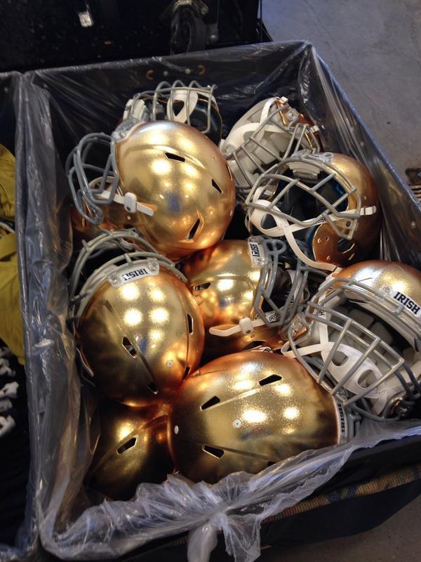 I love gold #GoIrish http://t.co/MhCIQ6Qkdk