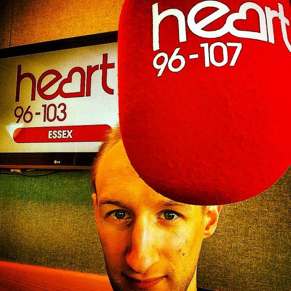Massive thanks to Nathan at @HeartEssex for today. Don't worry @MattMackayDJ you have nothing to worry about http://t.co/acbRhdm4ps