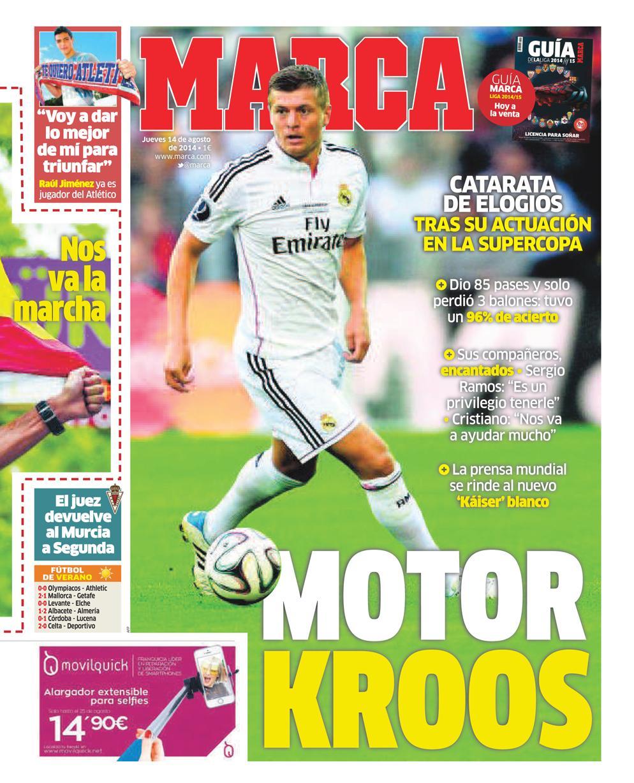 #LaPortada 'Motor Kroos' http://t.co/1m9I7CgjBo