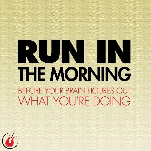 Who is planning a morning run tomorrow? http://t.co/xy0dsBmqfo