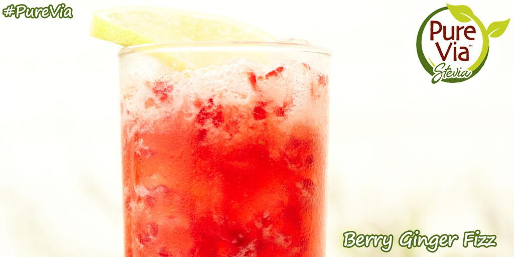 Try a #PureVia Berry Ginger Fizz to cool down while you enjoy the heat! http://t.co/ntQ6zdVHpb http://t.co/vR3c4tGaqz