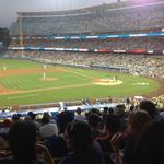 RT @operez23: Enjoying the view at @Dodgers Stadium with @TFA_LA Buddies #ThinkBlue #MyDayInLA http://t.co/5r402RS1In