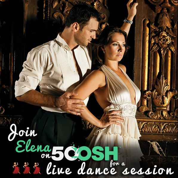 Elena Grinenko  @elenagrinenko: RT @5ooshOfficial: Live Dance Session with @elenagrinenko! Auction is LIVE. Check it out now on 5oosh! http://t.co/5C1llU2icc  http://t.co/…