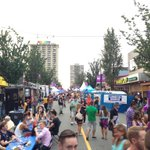 Love the ambiance at the #BeerGarden on @TheDavieVillage #pride2014 @vancouverpride #vancouver http://t.co/9TeO0sv7HF