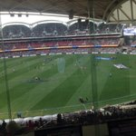 RT @ChrisSMcDermott: Stage is set for Crows vs Eagles clash at Adelaide Oval. Crows need a big win ! http://t.co/RGU63gV4cU