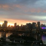 RT @JohnCCoupar: #pride colours at BC place and a magnificent sunset love #Vancouver nights #villageonfalsecreek http://t.co/BCHSlfWRp2