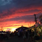 Beautiful sunset tonight while at the Richmond Night Market! #sunset #BC @HelloVancity @Richmond_BC http://t.co/UDR0cOy4h3