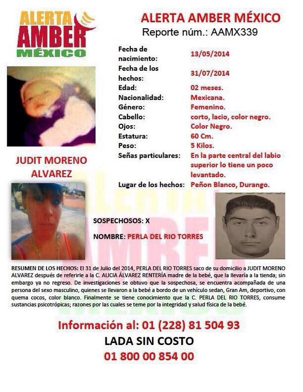 Se solicita ayuda para localizar a la menor... @brozoxmiswebs @tvaztecaoficial @CarIosLoret @luizork @lpineda10 http://t.co/4eZ5MJe1Zo
