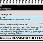 Berasa abis facial, kenceng & bersih :), Order PIN:3154EC1B - WA: 02514020212 http://t.co/DNjXBCK3df #TestimoniMaskerChitin #Herbal #Tiens