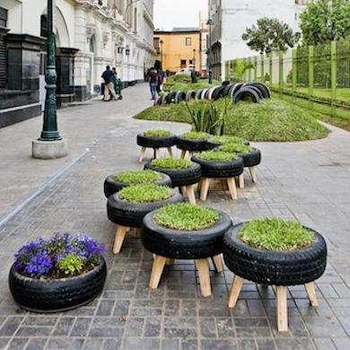 Old tires... what are they good for? LOTS, apparently. Some genius #upcycle ideas here. http://t.co/6hAulUJSo8 http://t.co/7tc4aXmnqP
