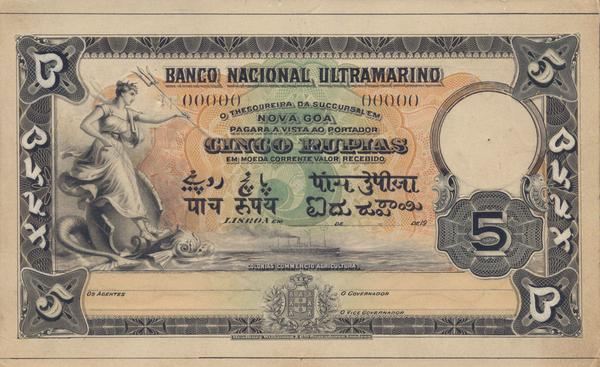 1920s :: Currency of  Portuguese  India , #Goa  http://t.co/UFdm5ssDEE
