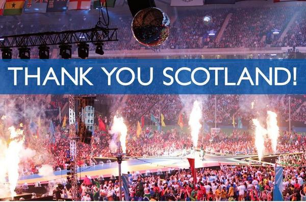 Scotland... We Thank You! #GoScotland http://t.co/jCBnMcKwkD