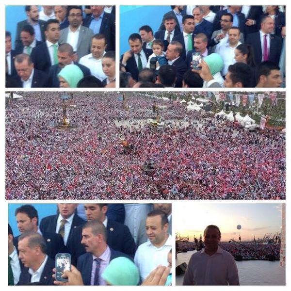 Teşekkürler İstanbul  Teşekkürler Türkiye  Halkımız kime, nasıl sahip çıkacağını çok iyi bilir, kimse merak etmesin. http://t.co/UG3rYhGlOS