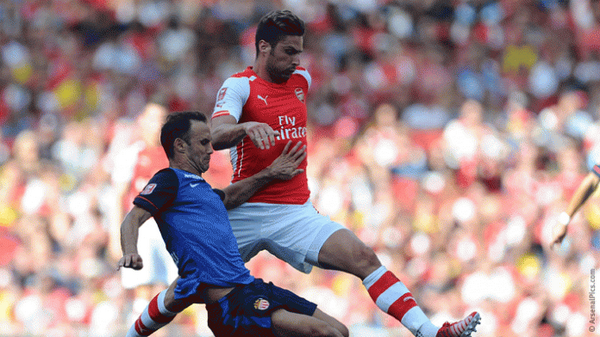 BuIsXGoCYAAqMz3 Arsenal boss Arsene Wenger dismisses suggestions that Olivier Giroud has gained weight [Video]