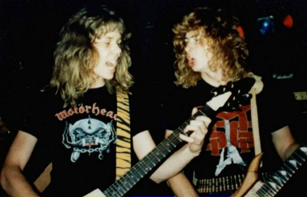 Happy birthday to my first real guitar partner. We changed the world brother! #JamesHetfield http://t.co/yliVtFh08o