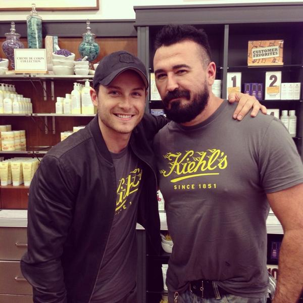 Great riding with @jesseleesoffer on @Kiehls #LifeRide5 Next year, the whole ride brother! http://t.co/CxeOzdouAM