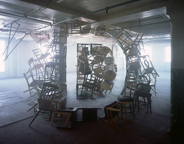 Impressive Typographic Artworks Made with Chairs, Scissors, Twigs And Fabric http://t.co/LtM141fpE5 http://t.co/oSbRGBJUMY