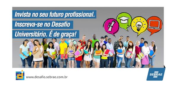 No #DesafioUniversitario vc pode se capacitar, aprender e ganhar muitos prêmios. Participe. http://t.co/zrvQGDq5lb http://t.co/Ijm09wB1HQ