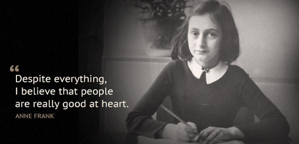 70 years ago today, #AnneFrank and her family were arrested by the Gestapo. http://t.co/71y69j4rN0